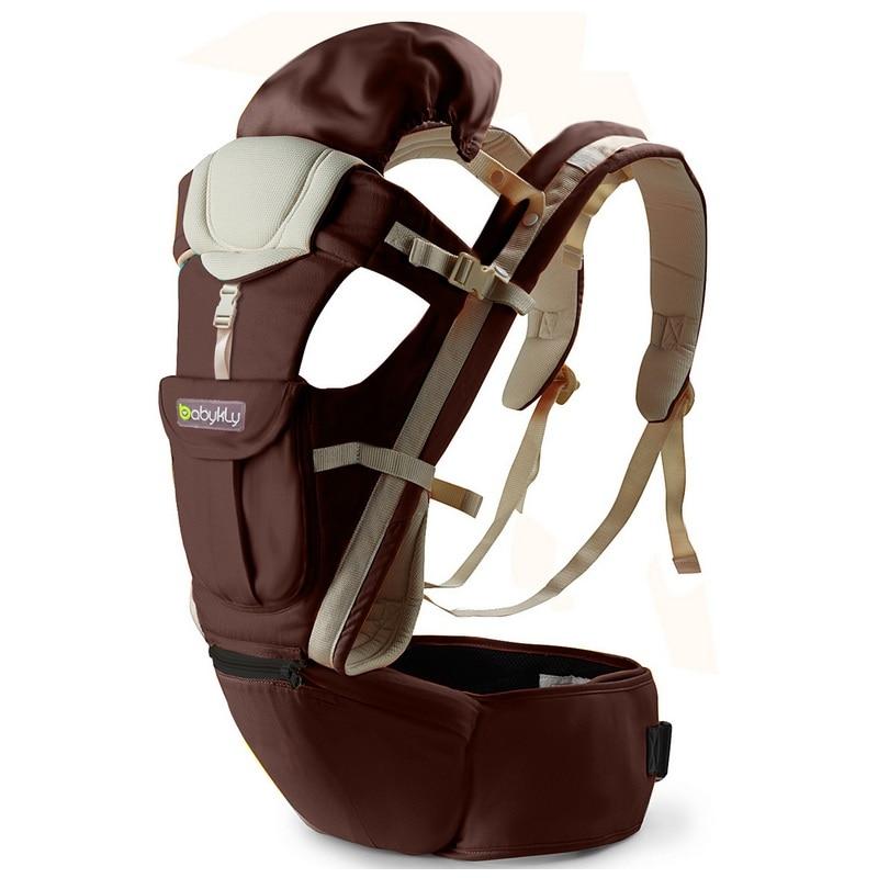 Nouveau porte bébé ergonomique 360 confortable wrap kid sac à dos hipseat bébé activité fournitures pour 0-3 ans bébé kangourou - 2