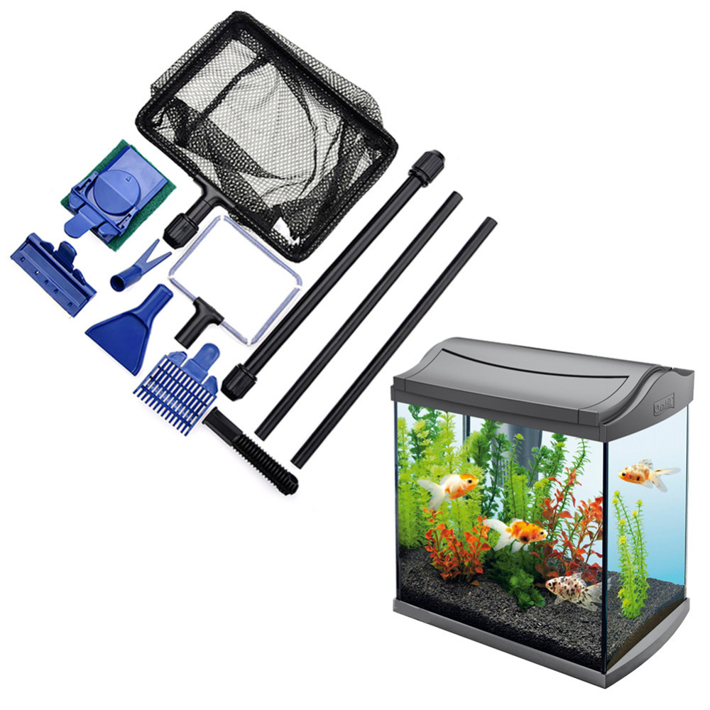 New Aquarium Cleaning Tools 5 In 1 Cleaning Kit Extension