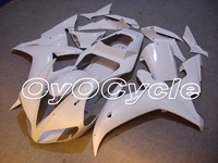 For Yamaha 02 03 YZFR1 YZF R1 YZF R1 Motorcycle Fairing Bodywork Kit ABS Plastic Injection 2002 2003 White