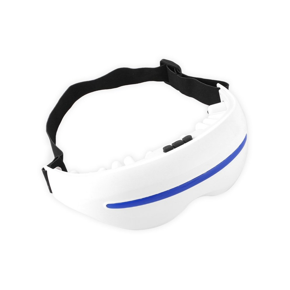 Electric Magnetic Eye Massager Mask Fatigue Alleviate Relax Vibrator for Asthenopia Dark Circles Removal Eye Care Massage Tool electric eye massager glasses magnet tharapy massage eye care vibration release alleviate fatigue forehead eye massager tool