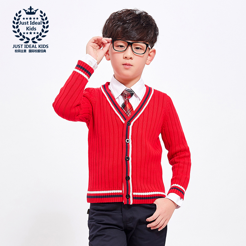 Sweaters Coat Cardigan V-Neck Knitting Autumn Winter Spring Cotton 1021 1022 Warm Boy