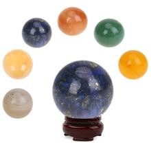 Bracelet-Accessories Sphere Crystal-Ball Agate Feishui-Stone Yellow Large Healing DIY