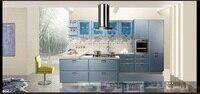 Lacquer Kitchen cabinet(LH LA011)