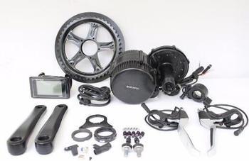 UE envío gratis Libre de impuestos 36V 250W Ebike Bafang BBS02 Motor de accionamiento medio Kit TFT850C C961 bicicleta eléctrica 46T rueda de cadena BB 68mm