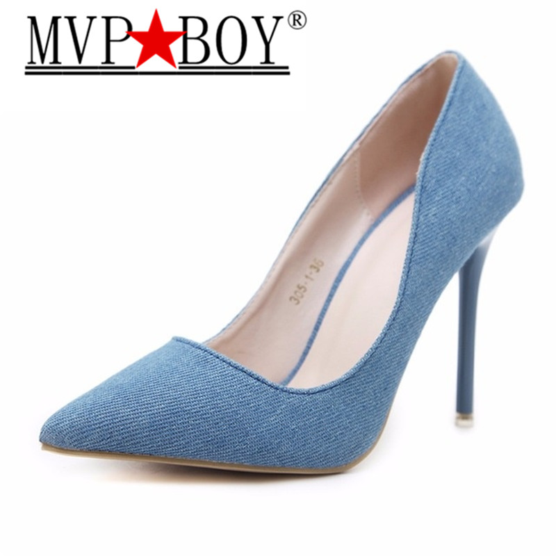 MVP BOY Hot OL Office Lady Classics Women Sexy Stiletto High Heels Pumps Shoes Pointed Toe Shoes Wedding Party Court Shoes