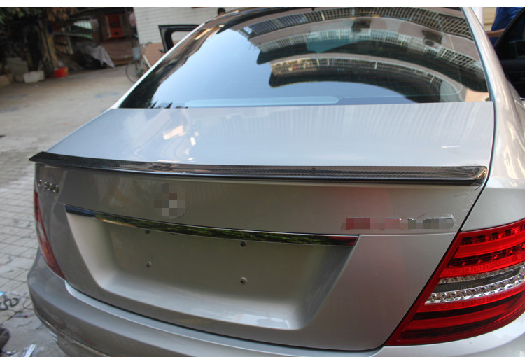 Fit for <font><b>Mercedes</b></font>-Benz E <font><b>W212</b></font> E320L E260L E300L E63 14-15E W207 E carbon fiber rear spoiler rear wing image