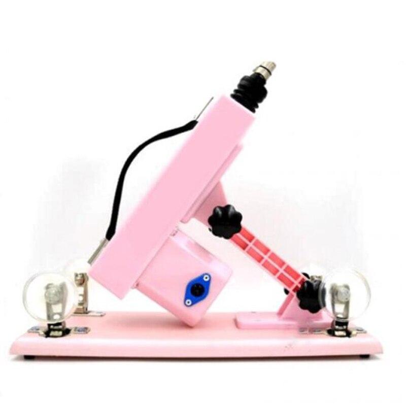 Sex Machine Female Masturbation Furniture Automatic Retractable Penis Machine With Dildo