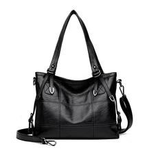 Plaid Leather Shoulder Bag Female Fashion Messenger  Womens Retro Big Capacity Women Briefcase Quality s for Girl