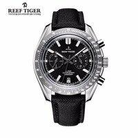 Новинка 2017 года Риф Тигр/RT Брендовая дизайнерская обувь мужские часы с хронографом Дата супер световой нейлоновый ремешок RGA3033