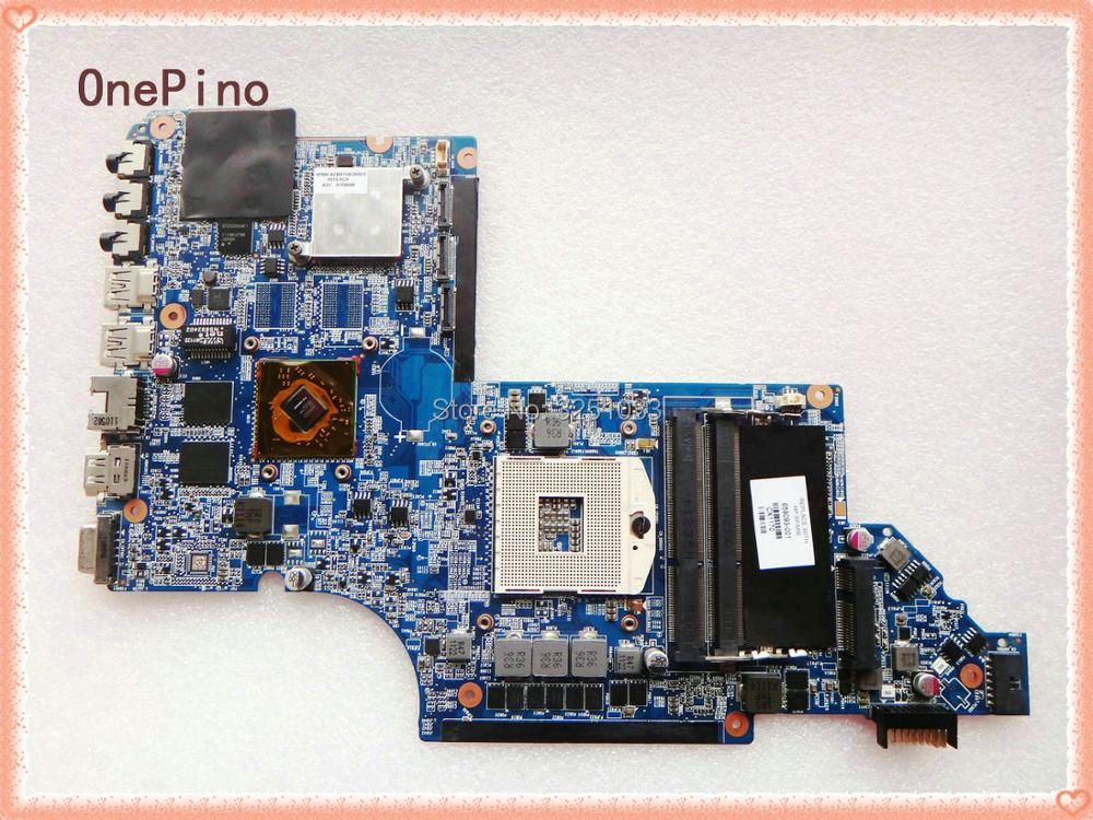 цены 659093-001 for HP PAVILION DV7T-6100 NOTEBOOK for HP DV7 DV7-6000 Laptop Motherboard HM65 DDR3  6490/1G 100% Tested