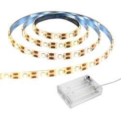 LED bande batterie USB 2835 blanc chaud froid 1M 3M 5M 5V LED ruban ruban lumières étanche 5V HDTV TV fond d'écran de bureau