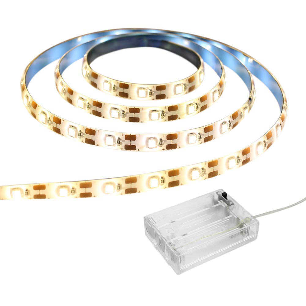 Lampu LED Strip 2835 SMD RGB Flexible Lampu LED Tape Pita USB/3AA Baterai 5 V HDTV TV Desktop latar Belakang Layar Bias Lampu