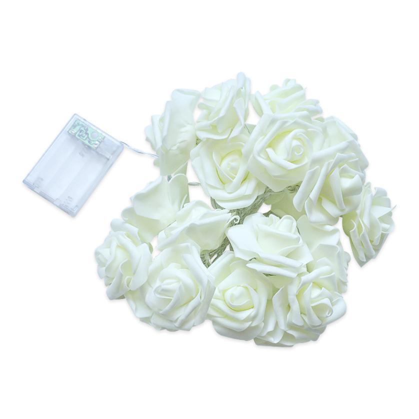 1 M 10 Ligther 1.2/1.5 V Rose Led Décoratives Fête De Mariage Lumières Décoratives Cadeau Lanternes Fées Lumières à Piles Saveur Pure Et Douce