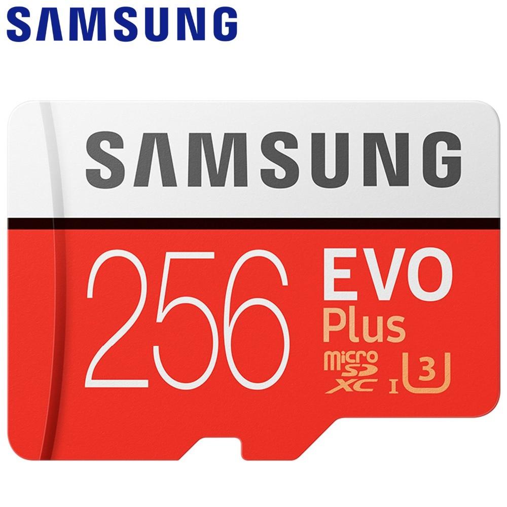 SAMSUNG Microsd Card 256G 128 GB 64 GB 32 GB 16 GB 8 GB 100 Mb/S Class10 U3 U1 SDXC Grado EVO + Micro SD Card Carta di TF Flash Scheda di Memoria Della CartaSAMSUNG Microsd Card 256G 128 GB 64 GB 32 GB 16 GB 8 GB 100 Mb/S Class10 U3 U1 SDXC Grado EVO + Micro SD Card Carta di TF Flash Scheda di Memoria Della Carta