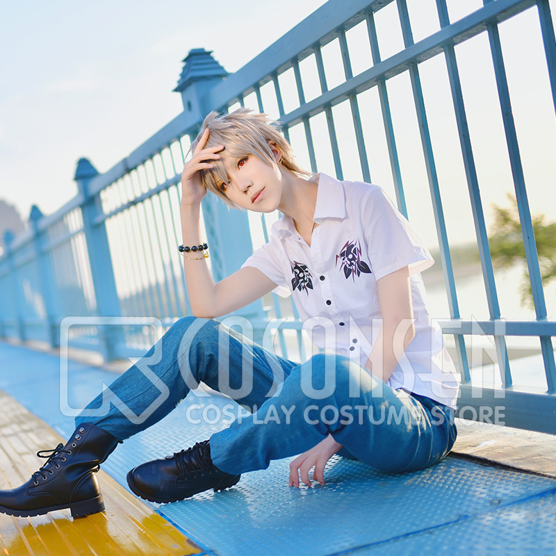 Division Rap Battle Aohitsugi Samatoki Hypnosis Mic MAD TRIGGER CREW Mr Hc Cosplay Costume COSPLAYONSEN Full