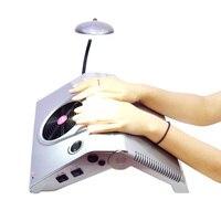 3 в 1 Многофункциональный Salon Nail Книги по искусству оборудование, инструмент бурильщика всасывания папка пылесборника остекления машины с б