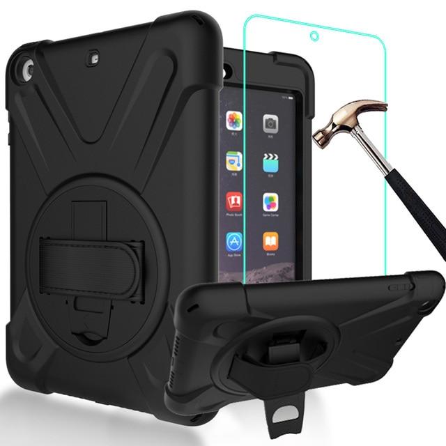 GZERMA Rugged Shockproof Anti-Slip Hybrid PC Silicone Protective Case For iPad Mini