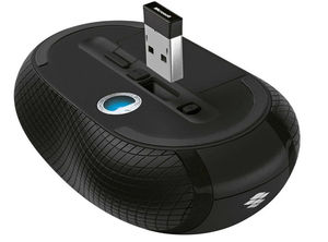 Image 3 - Microsoft 4000 2.4GHZ Wireless Mouse Blue Track For Laptop MAC