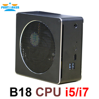 Intel Core CPU Mini PC i5 6568R i7 6785R i7 8750H Mini Computer Desktop Cooling Fan Windows 10 16gb Ram 4K Computer