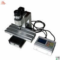 MINI CNC Router Vertical engraving machine cnc milling 3axis can upgrade 4axis