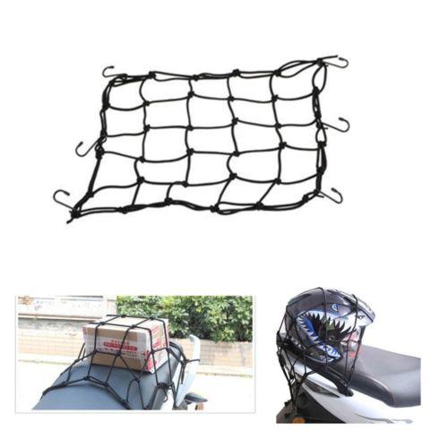 все цены на TCMT 3 color Option New Motorbike Motorcycle Helmet Bungee Luggage Cargo 6 Hooks Net Hold Down 40x40cm онлайн