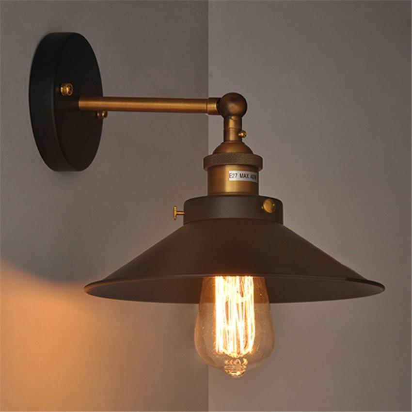 Prilagojena kreativna stenska luč Retro intustrial wind Iron E27 - Notranja razsvetljava - Fotografija 1