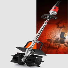 Concrete Mixer 220V Electric Construction Cement Mixing Machine Multifunctional Handheld Feed ,Mortar Concrete Mixer