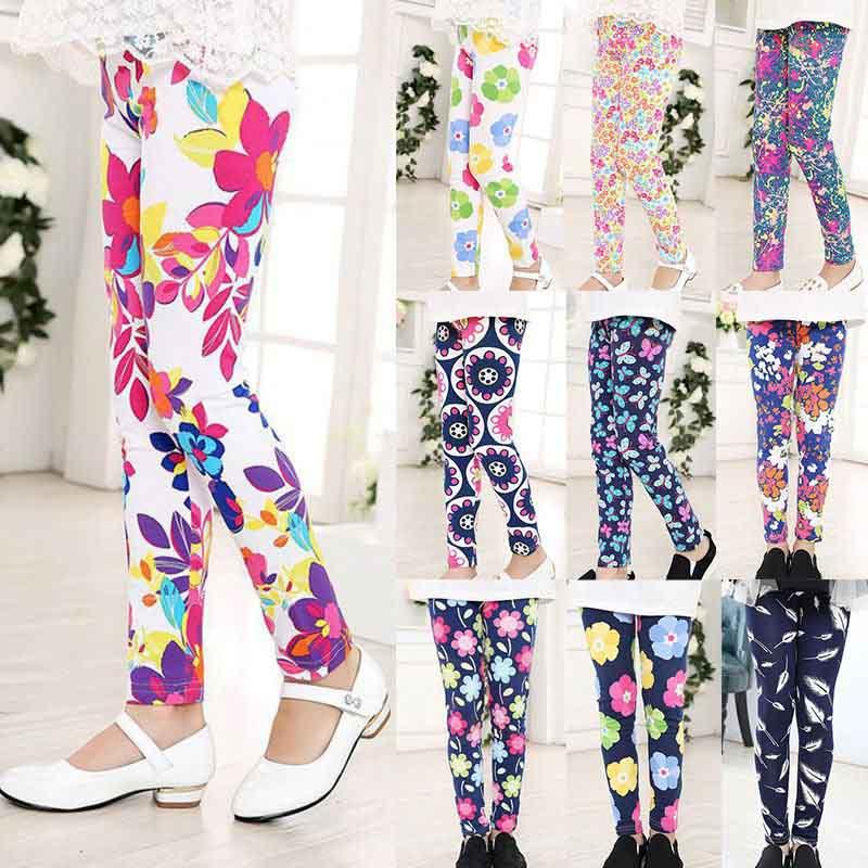 Low-Price-Spring-Summer-Girls-Leggings-Casual-Fashion-Vintage-Flower-Kids-Legging-Elastic-Waist-Children-Girls-Pants-8-14-Year-5