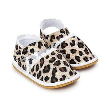 2898f300b3ea6 Printemps et automne 0-1 ans bébé femelle sauvage Princesse petites  chaussures bande jardin doux