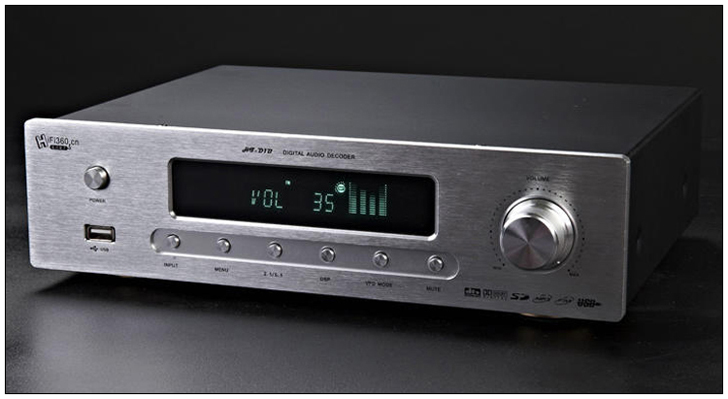 AC220V Fever HIFI decoder amplifier AC-3 DTS 5.1 channels decoders (mp3 card / USB / coaxial / optical / FM ) HF-D1B AMP the latest stirling model boutique stirling