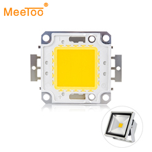 LED Matrix Lamps Spotlights Diode Beads Led-Chip Flood Warm White 100W 30W Cold 20W 50W