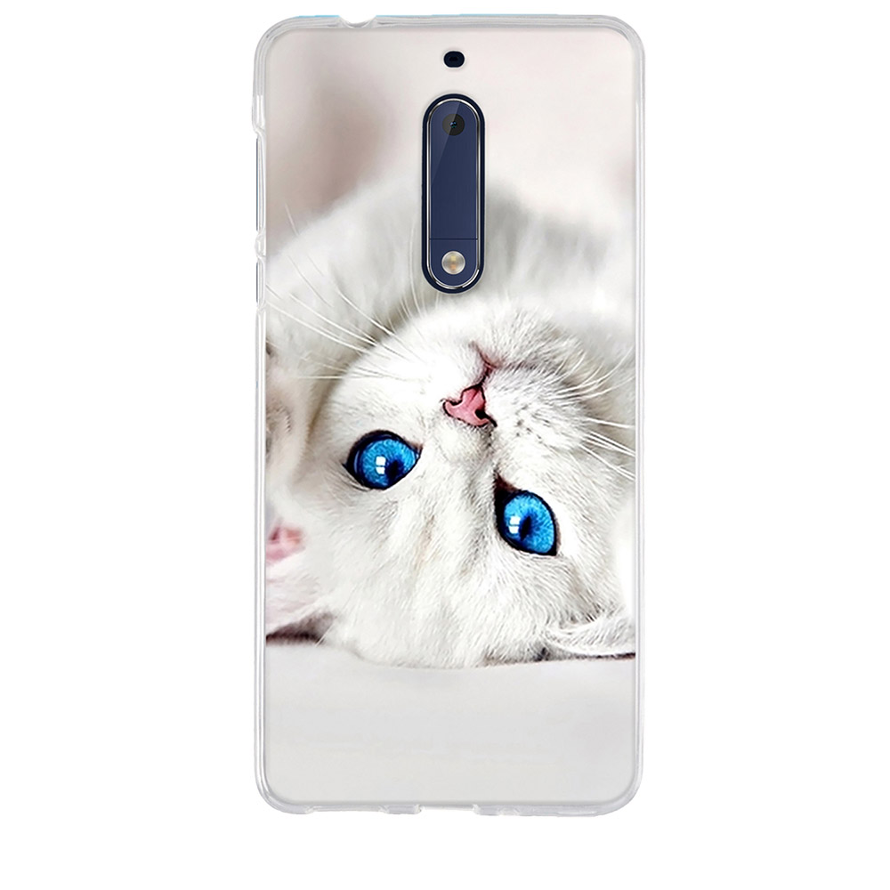 Phone Case For Nokia 3 Case Silicone Back Cover For Nokia 5 Case Soft TPU Funda For Nokia <font><b>Microsoft</b></font> <font><b>Lumia</b></font> <font><b>640</b></font> <font><b>LTE</b></font> Coque Bag <font><b>Capa</b></font> image