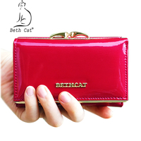 BETH CAT Brand 2017 Fashion Women Wallet Genuine Leather Credit Card Holder And Coin Purse Portefeuille