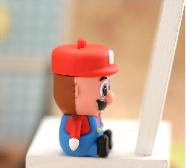 2016 high quality Cartoon mini Super Mario usb flash drive usb model USB Flash Drive Thumb/Car Pen drive memory stick S5#21