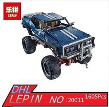 2017 New LEPIN 20011 1605Pcs Technic SUV 4×4 Crawler Exclusive Edition Model Building Kits Blocks Bricks Children Toy Gift 41999