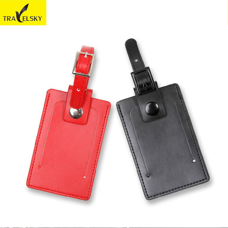 Online Buy Wholesale leather luggage tag from China leather ...