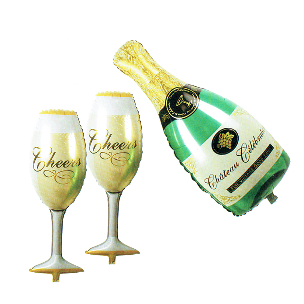 Buy mini champagne wine bottle cup for Champagne balloon wall