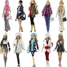 NK One Set Original Doll Clothes Handmade Party Outfit Fashion Dress Custom Fit  Maxiskit For Barbie Original Doll B027