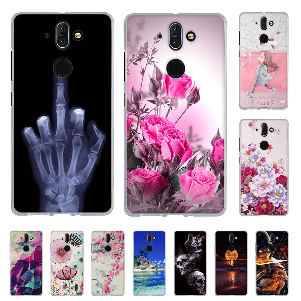 Cover For Nokia 8 Sirocco Case Back Phone Case For Nokia 8 Sirocco Covers Soft Silicone Fundas For Nokia 8 Sirocco Shell Coque