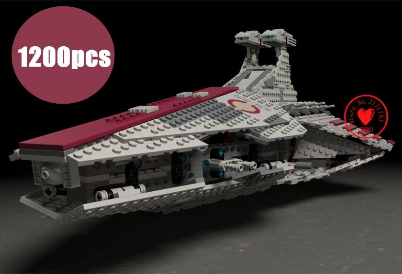 New Republic Fighting Cruiser droid fit legoings star wars figures fighter model Building Blocks Bricks diy Toys 8039 gift kid