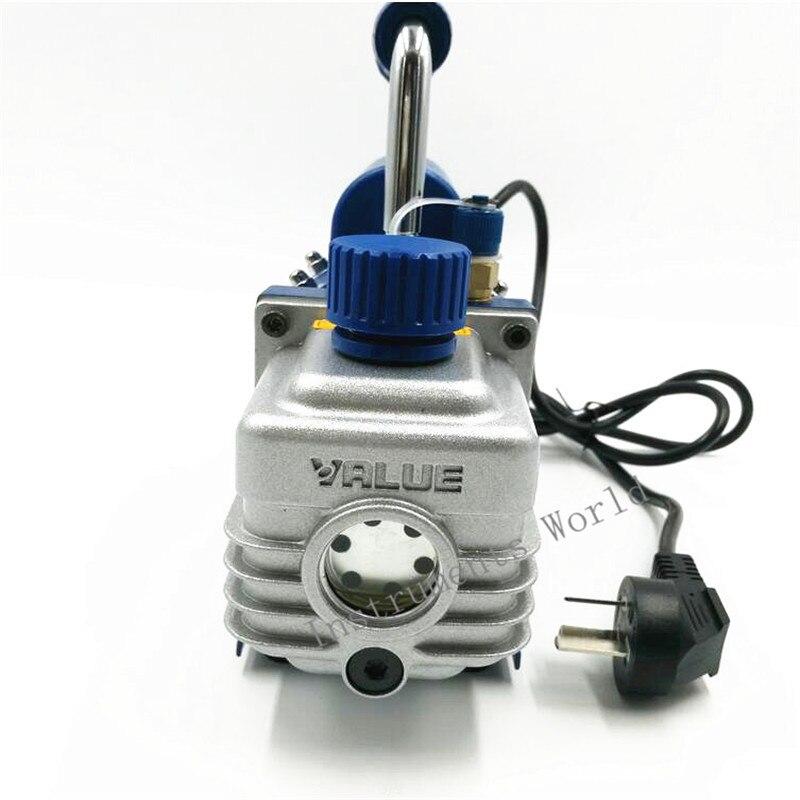 150 Вт вакуумный насос FY 1H N кондиционер добавить фторид инструмент вакуумный насос набор с хладагентом стол манометр трубка хладагента - 5
