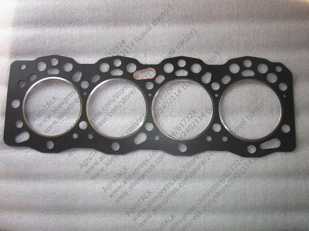 YITUO engine LRC4110, the gasket kit with head gasket, part number: jiangdong engine parts the jd495b engine the set of piston group with gasket kit