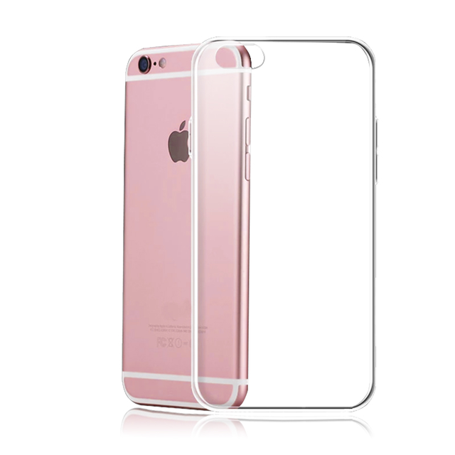 Silicone Clear TPU Case For iPhone 5s SE Cover For iPhone X XR XS MAX 7 8 6s 6 Plus Ultra Thin Crystal Back Protect Rubber Phone 2