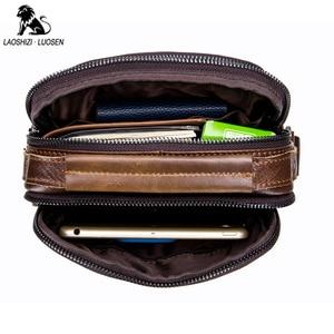 Image 4 - 2019 กระเป๋าถือผู้ชายกระเป๋าหนังแท้ใหม่แฟชั่นผู้ชายหนังMessengerกระเป๋าCross Bodyกระเป๋ากระเป๋าไหล่กระเป๋าสำหรับผู้ชาย