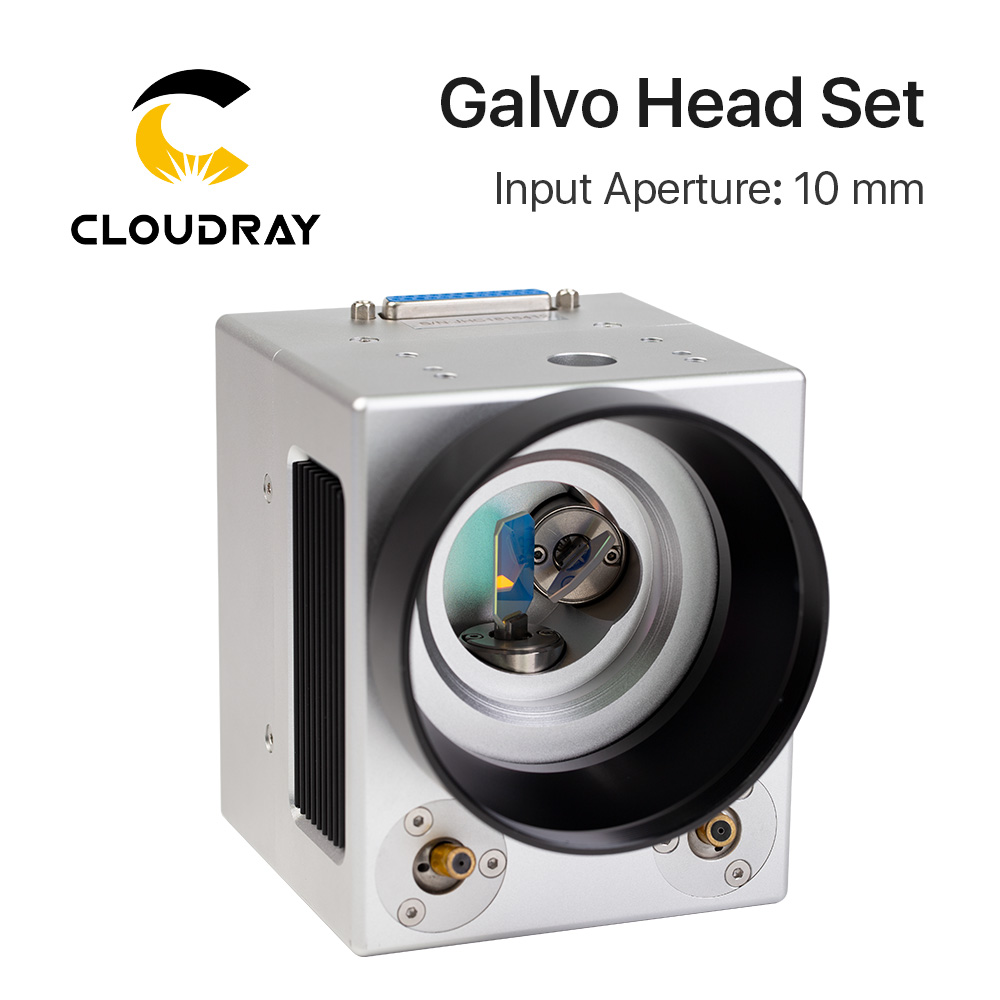 купить Cloudray 1064nm Fiber Laser High Speed Scanning Galvo Head SG7210 Input Aperture10mm Galvanometer Scanner with Power Supply Set по цене 41150.17 рублей