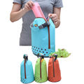 Portable Travel Picnic Outdoor Camping Oxford Tote Bag Organizer Insulated Thermal Carry Bag Bento Food Drinks Holder Lunch Bag