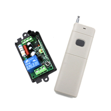 NEW!!! High Quality AC110V 220V RF Wireless Switch Relay Receiver Long Range Remote Controllers For Light switch SKU: 5212