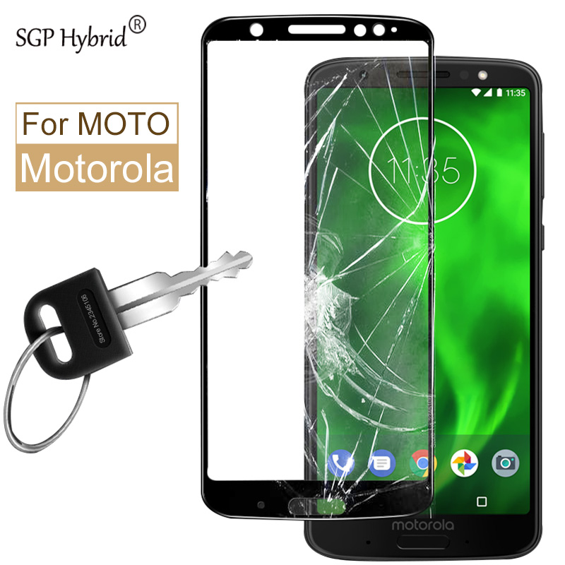 2.5D For Moto g6 play For moto g5s plus Tempered Glass For motorola moto e4 G6 plus G5 G6Plus XT1803 Cover Screen Protector Film image