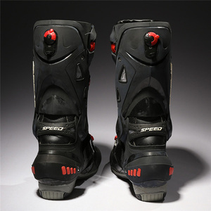 Image 5 - プロバイカーのオートバイのブーツ保護モトクロスレーシングスピードバイクシューズブーツダートバイクサイクリングスポーツ Bota Ş B1003