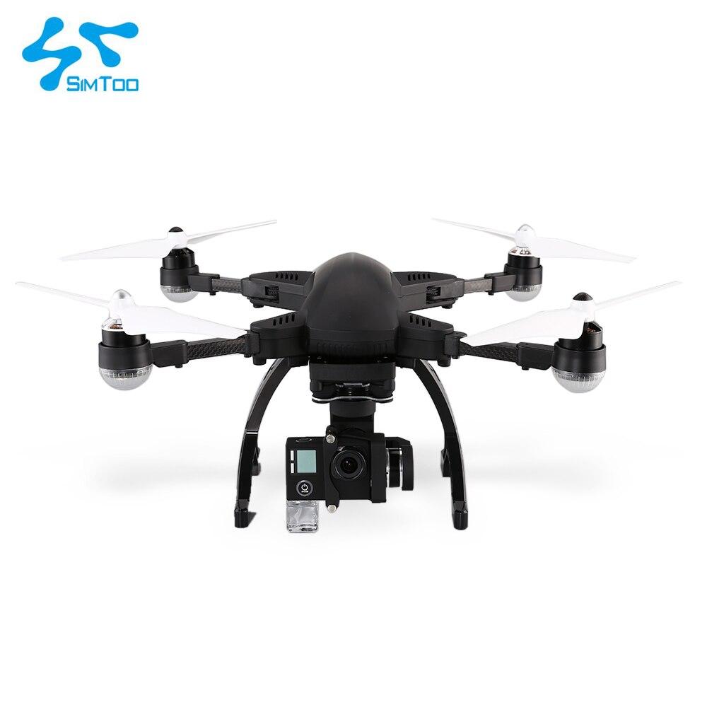 Libélula 2 Simtoo Drone UAV profesional con Wifi FPV 4 K HD Cámara GPS reloj controlador remoto plegable sígueme modo Drone